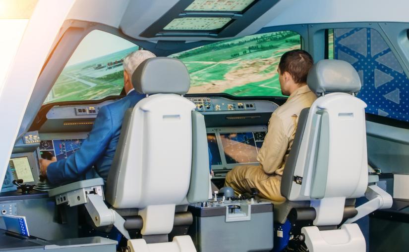 A importância de uma TV em sala de aula de escola de aviação
