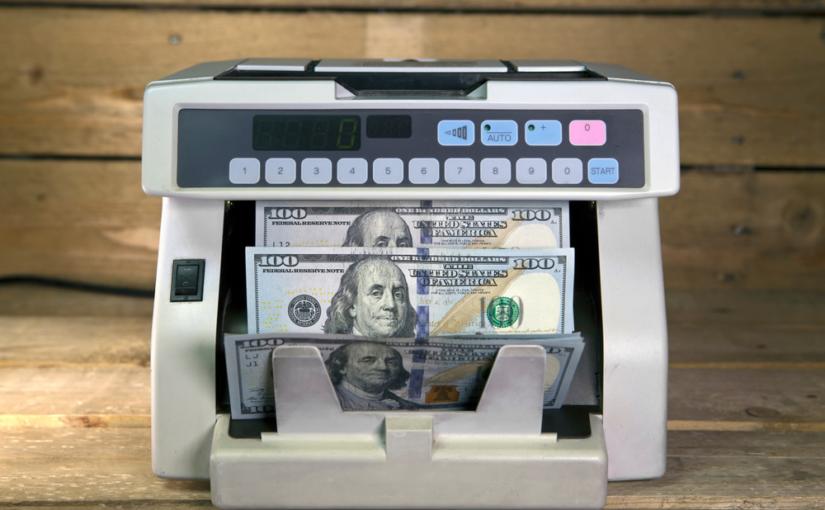 Como funciona uma máquina contadora de dinheiro?