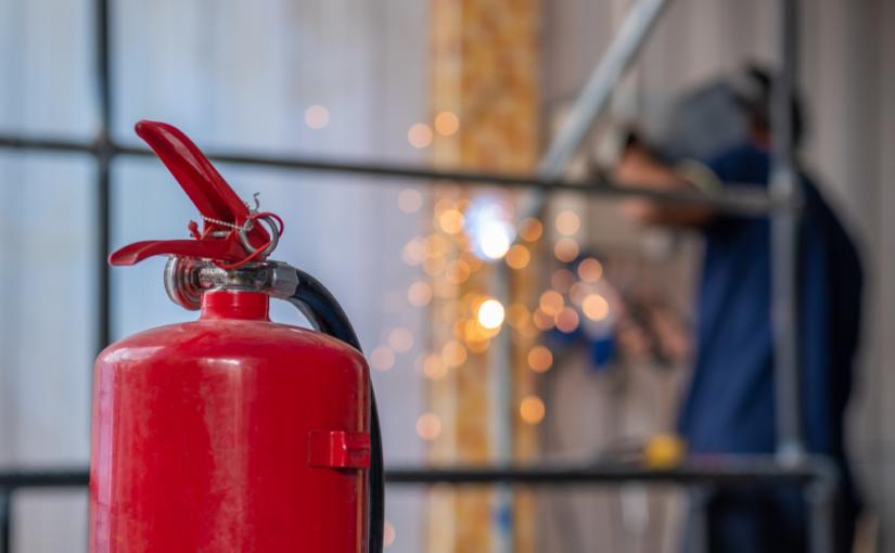 Sistemas contra incêndio em empresas
