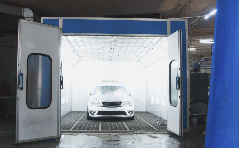 Entenda qual a função da cabine de pintura automotiva?