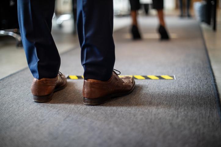 Como garantir o distanciamento social no ambiente de trabalho