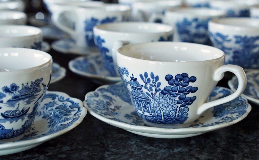 Qual a origem da porcelana
