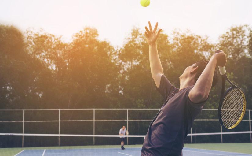 Por que os jogadores de tênis usam pulseiras?